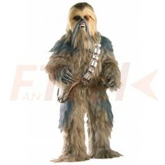 "Supreme Chewbacca Std: Behold, the perfect costume for any ""Star Wars"" purist. The Supreme Chewbacca costume is the top of the line edition of the co Costume Star Wars, Star Wars Halloween Costumes, Halloween Suits, Adult Costumes, Cosplay Costumes, Adult Halloween, Halloween Ideas, Clown Costumes, Funny Costumes"