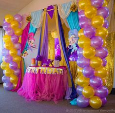 208 Best Shimmer And Shine Birthday Images On Pinterest 5 Years
