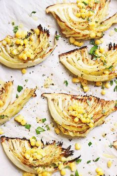 Cabbage Wedges with