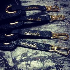 adorada carteras. Details, accessories, leather and metal