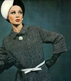 Photo by Bailey Vogue UK 1965