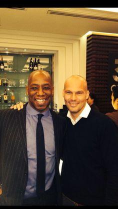 Ian & Freddie...