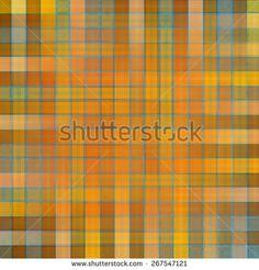 Karo pattern in yellow tones  - stock photo