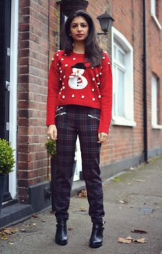 Christmas Jumper outfit! #ootd