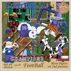 Foot Ball Scrap Kit