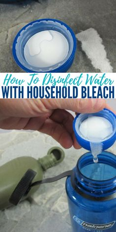 How To Disinfect Water With Household Bleach — As everyone knows, many municipal water systems use chlorine to disinfect water. Often, the use of chlorine is combined with other purification systems such as filtration and ultraviolet treatments.
