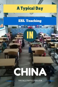 Ever wanted to teach abroad Here's a look into a typical day in the life of an ESL teacher in China.