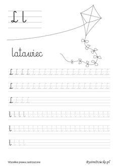 L pisane - nauka pisania dla dzieci,  Anna Kubczak