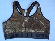 NEW Under Armour Women Camo Sports Bra Top Gym Fitness Yoga Size XS S M L XL