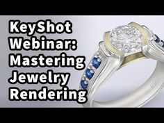 Level: Advanced How do you render jewelry to get that perfect look? Ed Ferguson of Cascadia Design Studio takes you through the process of model prep, import. Jewelery, Engagement Rings, Crystals, Diamond, Youtube, Accessories, Beautiful, 3d, Sailor Moon