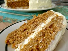 Pumpkin-carrot layer cake with cream cheese frosting