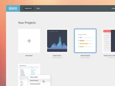 Dashboard designed by Jonas Arleth. Connect with them on Dribbble; Open Project, Dashboard Design, Bar Chart, Design Inspiration, App, January 2016, Apollo, Projects, Log Projects