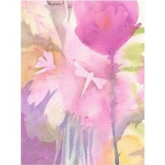 Trademark Art Dragonflies with Pink Canvas Art by Shelia Golden, Size: 18 x 24, Multicolor