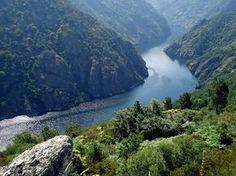 Ribeira Sacra. Cañón del río Sil. Ourense. Galicia. España.