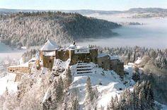 château de Joux, Jura, Franche-Comté