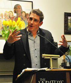 Inaugural #poet #RichardBlanco reads at the Center.
