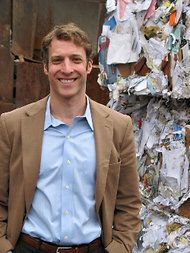 Ron Gonen, founder of Recyclebank, is helping New York City to double its recycling rate.
