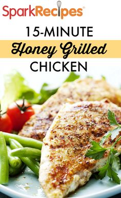 Ginger and garlic are the stars of the sauce in this easy chicken dish! Just marinate overnight and throw it on the grill the next day.