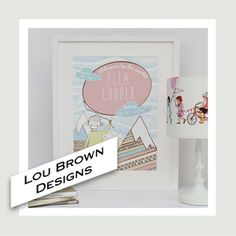 Lou Brown Designs will be selling our personalised prints at Kirsty's Handmade Fair 19-21 September. http://www.thehandmadefair.com/exhibitor-profiles/lou-brown-designs