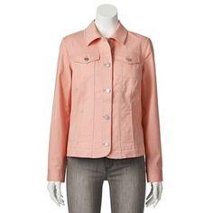 Croft & Barrow® Solid Twill Jacket - Women's