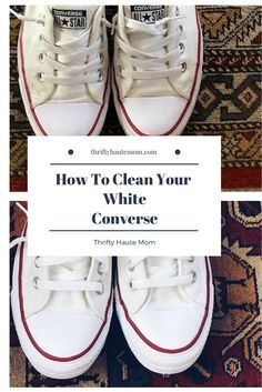 ecd86445df Having white sneakers can be the best but the worst. They get dirty so  quickly. Follow these quick steps to get them back to life.