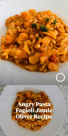Spicy pasta with beans and butternut squash. Jamie Oliver's recipe. Visit my Instagram account for more recipes. Spicy Pasta, Vegan Pasta, Vegan Dinner Recipes, Italian Recipes, Healthy Recipes, Mindful Eating, Jamie Oliver, Butternut Squash, Healthy Lifestyle