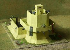 Dice tower command post for 40k