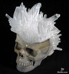 Quartz Rock Crystal Crystal Skull http://www.skullis.com/Druse-Skulls-1.html