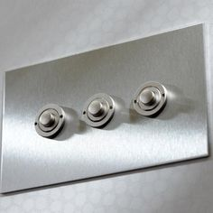 UK Stainless Steel Push Buttons