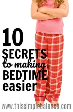 Bedtime Routines: 10