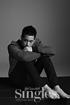 Kim Bum Broods For Singles' July 2015 Issue | He looks much more mature and sexy.