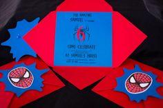 spiderman party invitations - Buscar con Google