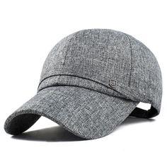 67f377d94e9 Men Cotton Baseball Cap Adjustable Winter Warm Golf Outdoor Sports Hat -  Gchoic.com Fashion