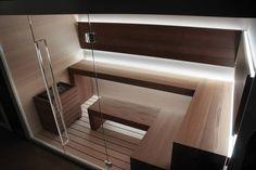 Trendy Home Gym Sauna Indoor Pools Sauna Design, Home Gym Design, Design Design, Sauna Steam Room, Sauna Room, Saunas, Sauna Seca, Sauna House, Spa Interior