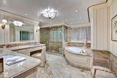quarto de luxo com closet e banheiro - Pesquisa Google