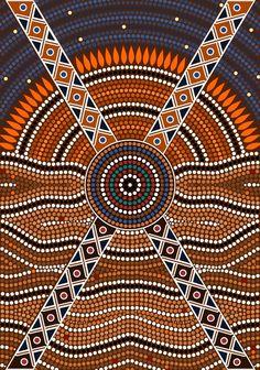 Nice Aboriginal Art from $34.99 | www.wallartprints.com.au #AboriginalArt