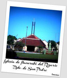 Iglesia de Itacurubí del Rosarioi - Dpto. de San Pedro