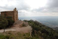 75 minutes outside the city. Santa Maria de Montserrat is a Benedictine abbey located on the mountain of Montserrat, in Monistrol de Montserrat, in Catalonia, Spain. It is notable for enshrining the image of the Virgin of Montserrat.