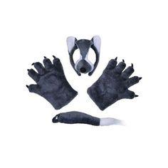 Wolf - Dressing Up Set - http://moviemasks.co.uk/shop/wolf-dressing-up-set