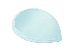 Light Blue Satin Teardrop Fascinator Hat Base with Hairclips - Available in 12 Colors