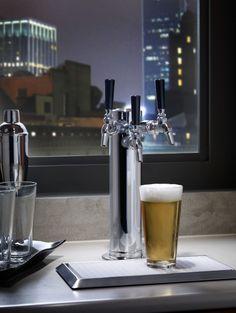 Perlick's 3-tap beer dispenser