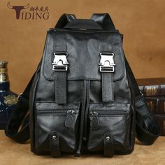 Cheap women backpack, Buy Quality backpack style directly from China style backpack Suppliers: TIDING Luxury Genuine Leather Solid Color Litchi Women Backpack School Bags Vintage Style Travel Luggage Bag Backpack Travel Luggage, Luggage Bags, Vintage Fashion, Vintage Style, School Backpacks, School Bags, Backpack Bags, Buy Now, Litchi