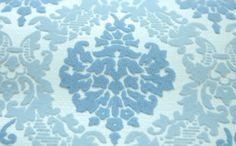 Beautiful Vintage Flocked Damask Wallpaper by ElegantFarmhouse, $10.00