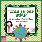 $1 Celebrate Earth Day with this original upbeat, professionally recorded  song. It comes with illustrated lyrics and a karaoke version so it can be u...