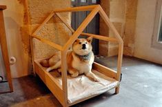 This DIY dog house is easy-to-make for even the most novice of crafters.Check out for 50 great ideas