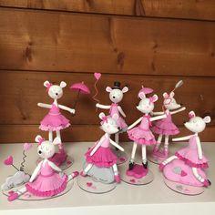 Figurines Lilibelle en porcelaine froide de Patapascale