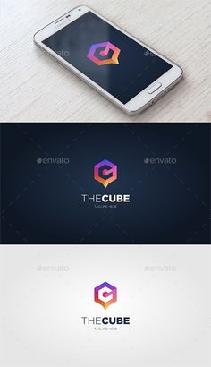 The Cube — Vector EPS #3d #logo #gradient • Available here ➝ https://graphicriver.net/item/the-cube/20564028?ref=rabosch