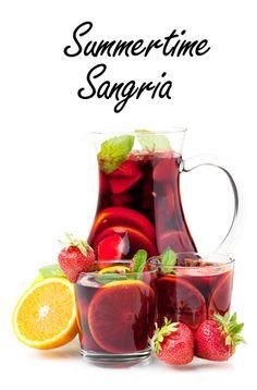 DIY Summertime Sangria I wanna make the basic sangria