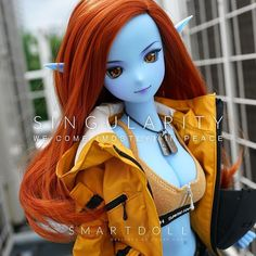 """The anime style won over semi-real in the battle of the planets (the one who gets released first) and we have a name for her - Singularity - as in the singularity inside a black hole. Her product detail page is now up in the """"coming soon"""" section of the Smart Doll online store - if you are interested in getting hold of Interstellar Blue Edition limited run then sign up for the email alerts - please read the email alert blurb before using the function. Option parts will be released at the… Battle Of The Planets, Smart Doll, Anime Dolls, Cute Dolls, Ball Jointed Dolls, Anime Style, Doll Accessories, Barbie Dolls, Princess Zelda"""