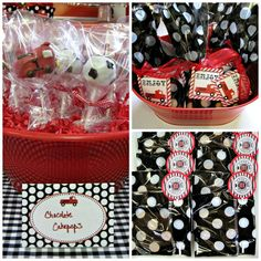 Firetrucks and Dalmatians Baby Shower Party Ideas | Photo 1 of 10